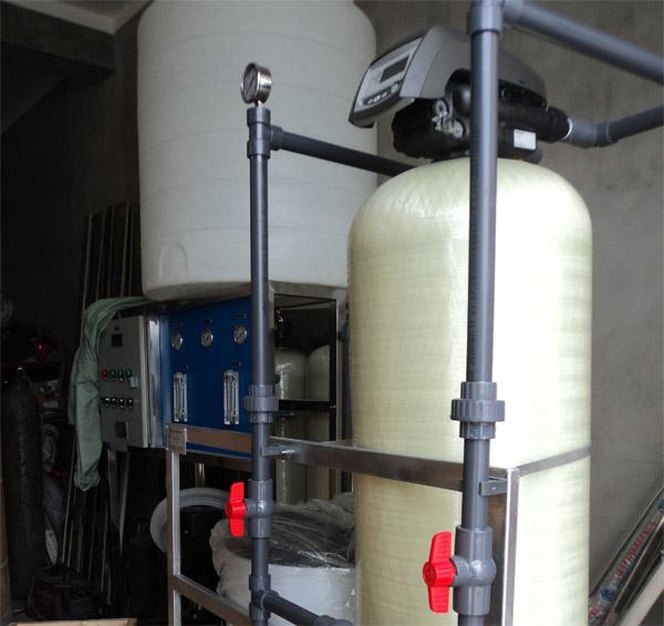 酒店洗衣房软化水设备
