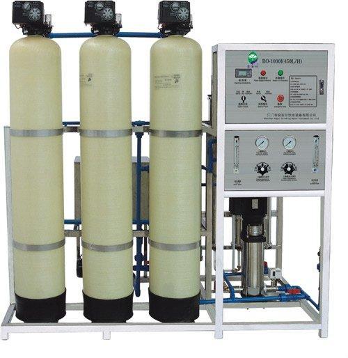 0.5T/时双级反渗透纯净水设备
