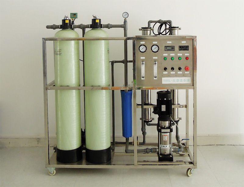 5t/时双级反渗透纯净水设备