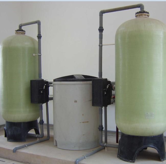 20吨双罐全自动软化水设备