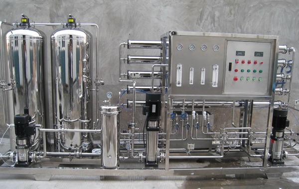 纯净水设备100t/h白酒稀释