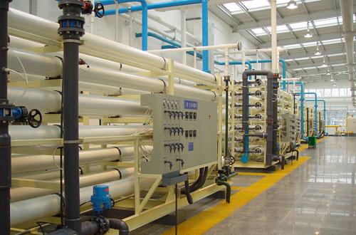 超纯水设备800t/h造漆行业专用