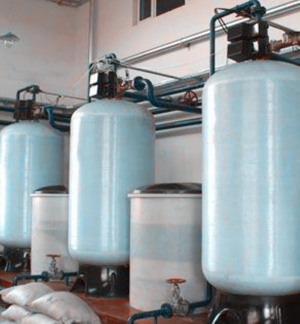 中小型供暖锅炉软化水设备60t/h