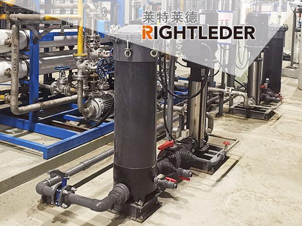 电子级高纯水设备中保安过滤器的用应用介绍